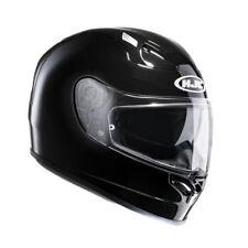 hjc fg st mono colore grafica nero lucido casco integrale fibra e occhialini