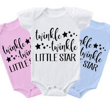Twinkle Twinkle Little Star cute Baby Grow body Suit Vest gift present  z1