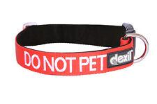 Code couleur ne pet rouge réglable forte collier de chien ou rembourré poignée de plomb