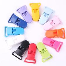 50PCS Pacifier Clips Bulk Plastic Baby Pacifier Holder Dummy Clips