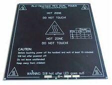Mk3 3d IMPRESORA Calefactado BED - 3mm aluminio PCB Heatbed - 12v & 24v CALOR