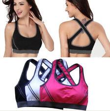 New Seamless Yoga Sports Bra Crop Top Comfort Stretch Bras Shapewear Padded