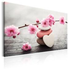 LEINWAND BILDER Blumen weiß rosa Herz Orchidee WANDBILDER XXL Wohnzimmer 2 Motiv