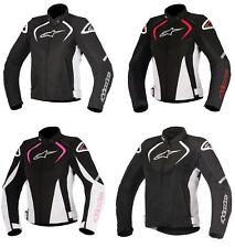 Alpinestars Moto Motocicletta Stella T-Jaws Wp Tessuto Sport Donna Giacca da
