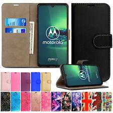 For Motorola Moto G8 PLUS G7 Power E6 G6 Leather Wallet Flip Phone Case Cover