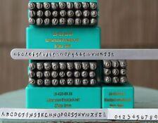 SUPPLY GUY 3mm Blackjack Font Metal Stamp Letter Set
