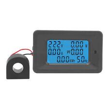 110~250V 100A LCD DIGITALE MISURATORE DI CONSUMO VOLTMETRO AMPEROMETRO PANNELLO