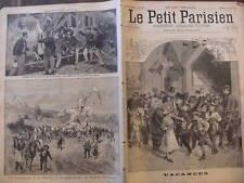 LPP 1893 N 236 RENCONTRE DE TRAINS SOUS UN TUNNEL