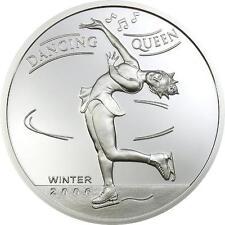 Mongolia 2006 Ice Queen Diamond  500 Tugrik Silver Coin,Proof