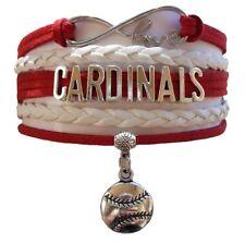 St. Louis Cardinals Baseball Fan Shop Infinity Bracelet Jewelry