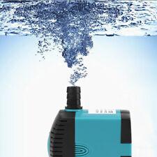Ultra-Silencio Sumergible Agua Bomba Peces Acuario Tanque 3/6/10/15/25w +EU plug