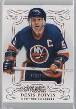 2013-14 Panini National Treasures #5 Denis Potvin New York Islanders Hockey Card