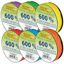 Pole elastic siliconi 600%/6m, all'elastico, di alta qualità match gomma, stippangeln