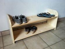 Schuhschrank, Schuhregal, Schuh Regal HOLZ versch. Größen Fichte