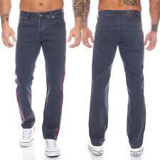 Rock Creek Herren Jeans Hose mittlerer Waschung seitliche Streifen RC-2114 NEU