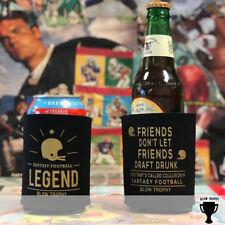 Funny Fantasy Football Koozie Four Options - Fantasy Football Draft Blow Trophy