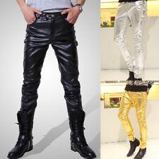 Trendy men's dance performance homme pantalon slim pantalon t-shirt jumpers tops set