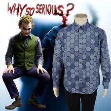 Batman The Dark Knight Heath Ledger Joker Cosplay Costume Shirt Only