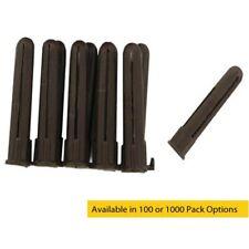 Brown Plastic 4-6 mm Rawl Wall Plugs - Tough, High Density Trade Quality