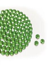 Green HotFix Diamantes GLASS Rhinestone DMC Quality Flat Back Glue Iron On