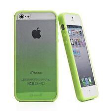 Muvit Sunglasses Custodia per iPhone 5/5S/5SE, Verde BUMPER PIU GLASS POSTERIORE