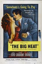 The Big heat Glenn Ford vintage movie poster print #12
