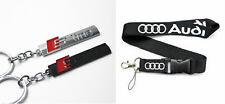 Audi Keyring NEW UK Seller Metal Key Ring S-Line S-Sport lanyard S Line