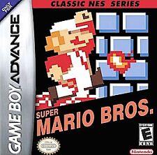 Classic NES Series: Super Mario Bros, (GB Advance)