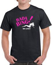 131 Bada Bing mens T-shirt mafia sopranos mobster strip club tv show mob boss
