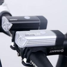 Waterproof 5W Rechargeable LED Bike Cycling Head Lights Flashlight USB Aluminum