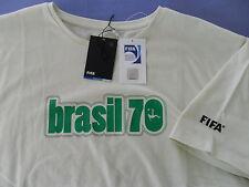 FIFA MEXICO 1970 WORLD CUP BRASIL Brazil Football Futebol Soccer Futbol Shirt~XL