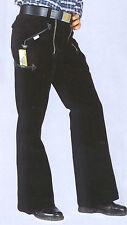 Zunfthose Zimmermannshose + Schlag Arbeitshose Manchesterhose  schwarz von OSB