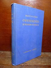 MARCUS DE RUBRIS : CONFIDENZE DI MASSIMO D'AZEGLIO - 1930 TARGIONI TOZZETTI