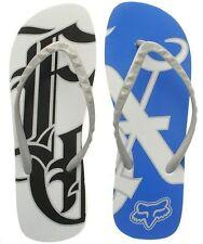 Fox Racing Niña Mono Chanclas Blanco Zapatillas de Playa Sandalias planas