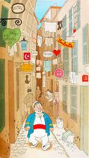 ALBERT DOUBOT MARIUS COMIC ART GICLEE PRINT FINE CANVAS
