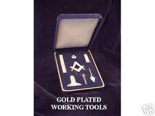 Masonic Mini Working Tools - GOLD