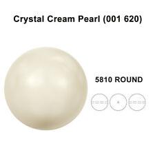 CRYSTAL CREAM PEARL (001 620) Genuine Swarovski 5810 Round *All Sizes