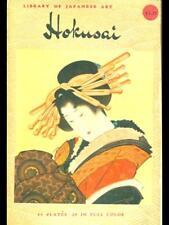 KATSUSHIKA HOKUSAI  AA.VV. CHARLES E. TUTTLE 1958 LIBRARY OF JAPANESE ART