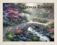 NIP THOMAS KINKADE POSTER BOOK 20 POSTER PAINTINGS FOR FRAMING SEALED MINT GIFT