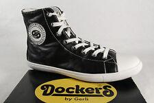 Dockers Stiefel, Boots, Halbschuh Kunstleder schwarz  NEU