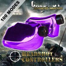 New TGC Custom Xbox One Controller LT RT Chrome Purple Trigger Stops + T8 & T6