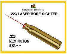 223 Bore Sighter .223 Laser Boresighter Remington 5.56mm X 45mm Copper Cartridge