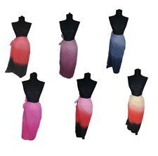 Cotton 100% Sarong Beach Pareo Dress Wrap Swimwear cover Extra Large 200 x110cm
