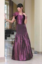 Abendkleid Plisseerock Korsage Abschlussballkleid Maxikleid Ballkleid Gr. 40,42