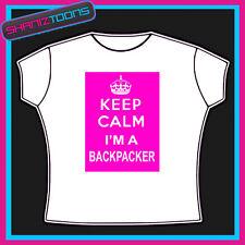 KEEP CALM BACKPACKER T SHIRT