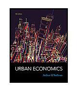 Urban Economics by Arthur O'Sullivan (2011, Hardcover)