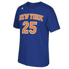 Derrick Rose New York Knicks #25 Youth NBA Name & Number Climalite T-Shirt