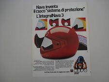 advertising Pubblicità 1981 CASCO INTEGRAL NAVA 3