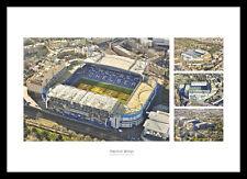 Chelsea Stamford Bridge Football Stadium Aerial Photo Memomrabilia (FICELM)