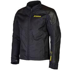 Klim Vented Ventilation Apex Air D3O Motorcycle Motorbike Textile Jacket - Black